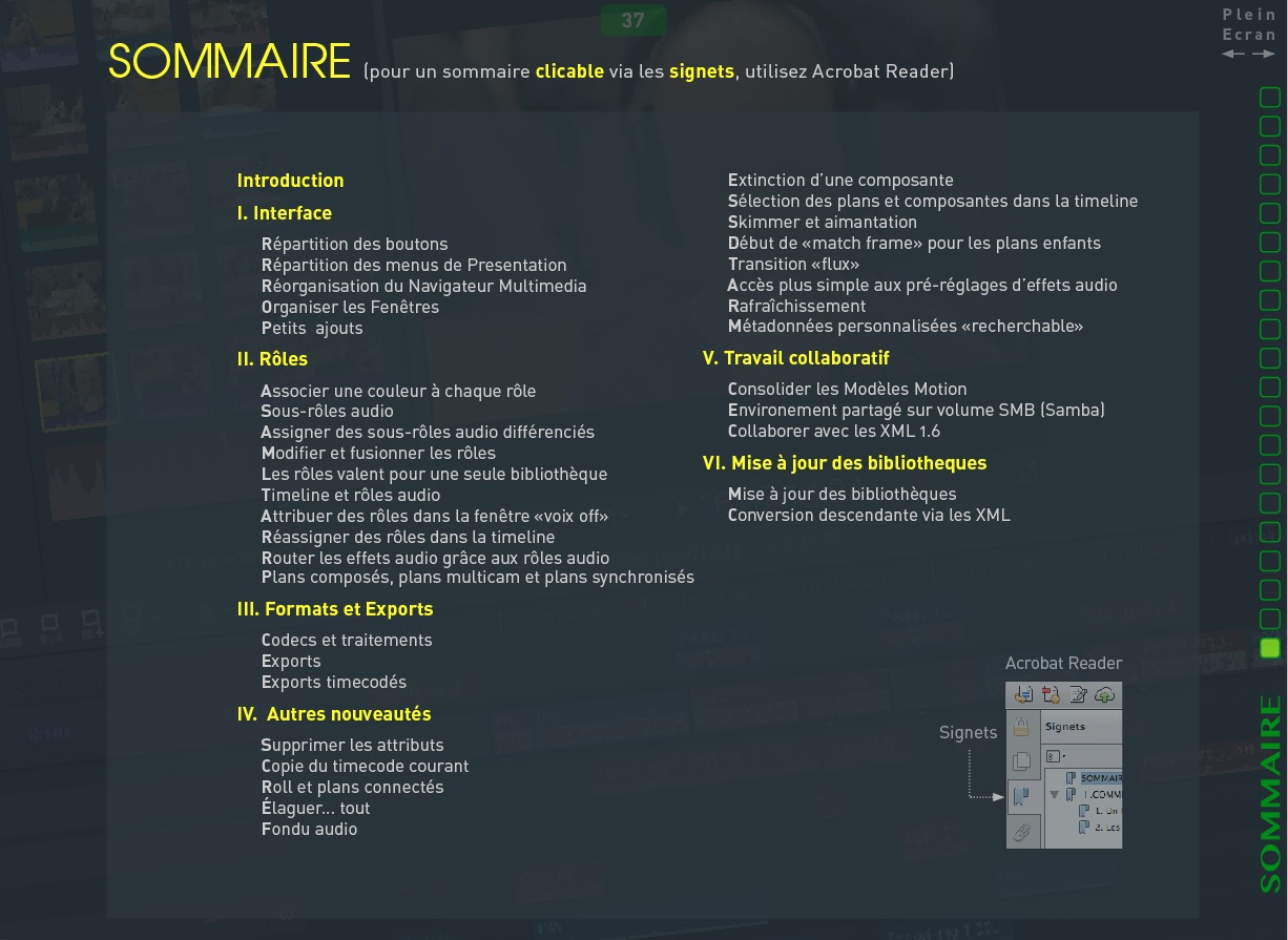 SOMMAIRE 10.3